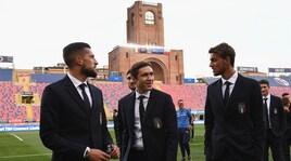 Italia contro la Polonia con Biraghi