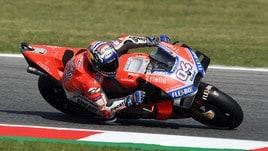 MotoGp Misano, Libere 2: Ducati padrona con Dovizioso e Lorenzo, Rossi 8°