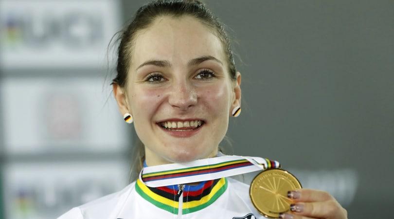 Ciclismo, la campionessa olimpica Vogel annuncia: