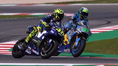 Misano, Rossi e Morbidelli protagonisti in pista