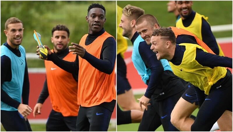 Lo strano allenamento dell'Inghilterra: rugby e scatti alla Bolt