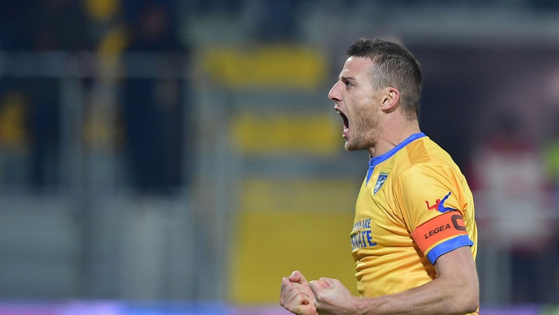 Frosinone-Ternana 4-1. Rientro con gol per Daniel Ciofani