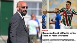 In Spagna: «La Roma sfida il Real per Pedro Guilherme»