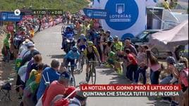Vuelta - 13ª tappa - Quintana stacca tutti