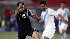 Vincono Brasile, Argentina, Uruguay e Colombia. Simeone segna al debutto