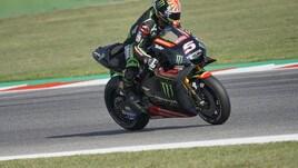 MotoGp Misano, Libere 3: guida Zarco, Rossi 20° ma è in Q2