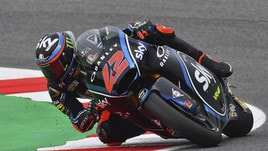 Moto2 Misano: Bagnaia si prende la pole, Oliveira è 9°