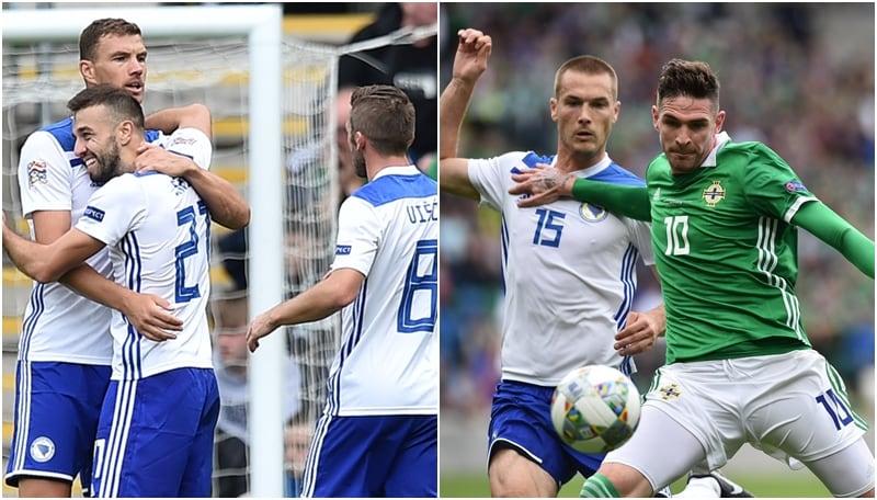 Nel match valevole per il Gruppo 3 della Lega B, la Bosnia conquista i primi tre punti nella competizione grazie alle reti di Duljevic e Saric