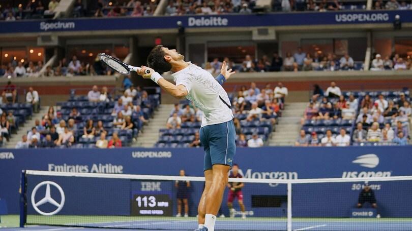 Tennis, il terzo Us Open di Djokovic a 1,40