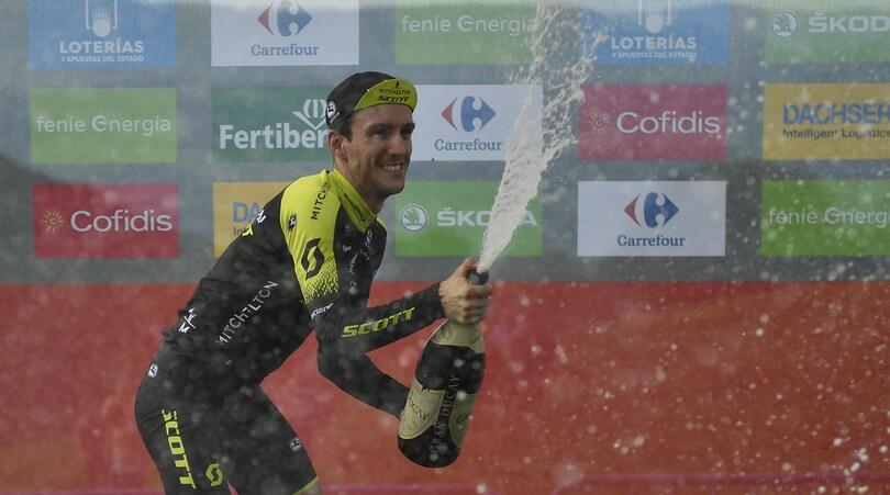 Vuelta, doppio colpo di Yates: vince tappa e si riprende la 'Roja'