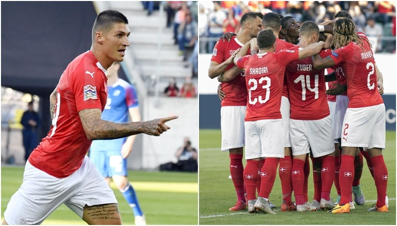 La Svizzera dilaga con l'Islanda: a San Gallo finisce 6-0