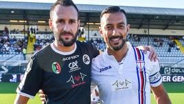 Spezia-Sampdoria 2-1, aquilotti vittoriosi in rimonta