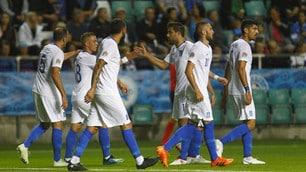 Alla Grecia basta un gol diFortounis per battere l'Estonia