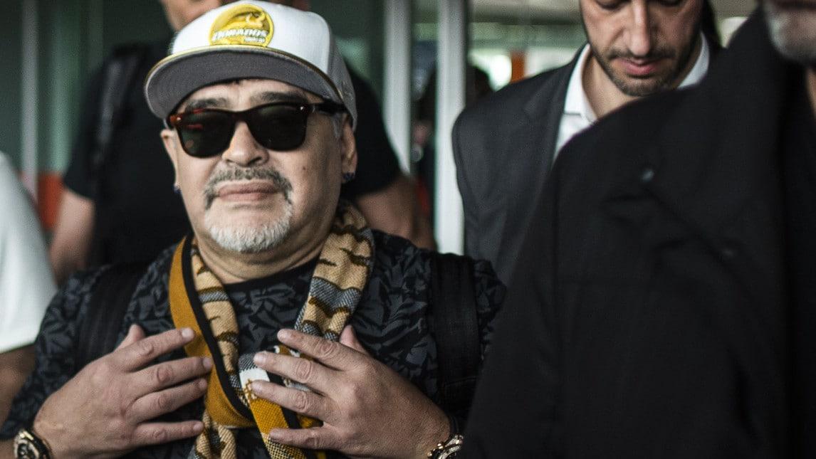 Il Pibe de oro comincia un'altra avventura: sarà il tecnico del Dorados de Sinaloa