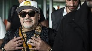 Maradona, uno sbarco da re in Messico
