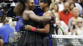 Us Open: Osaka nella storia, Serena ko