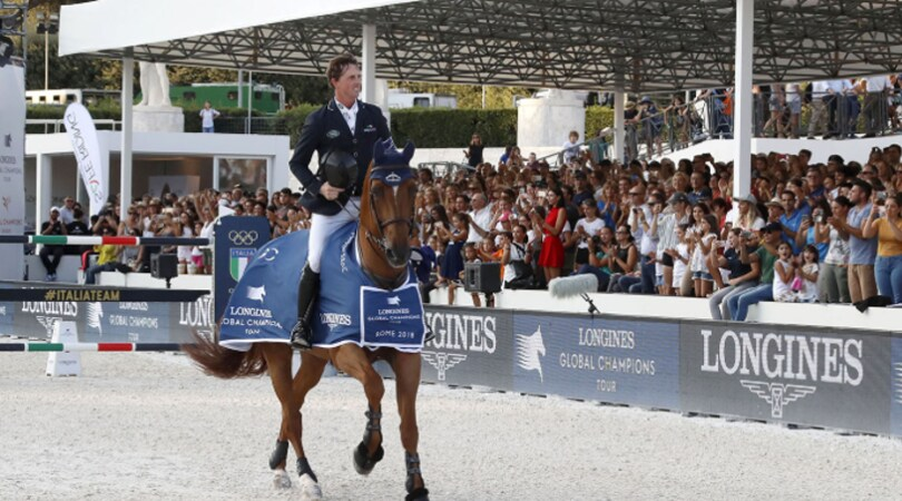 Maher passa e chiude: vince a Roma e il Global Champions Tour è già suo