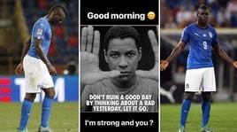 Balotelli risponde ai critici: «Io sono forte, e voi?»