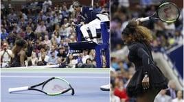 Serena Williams perde testa e finale agli Us Open: la Osaka nella storia