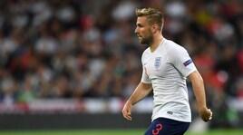 Inghilterra, paura passata per Shaw: «Sto bene»