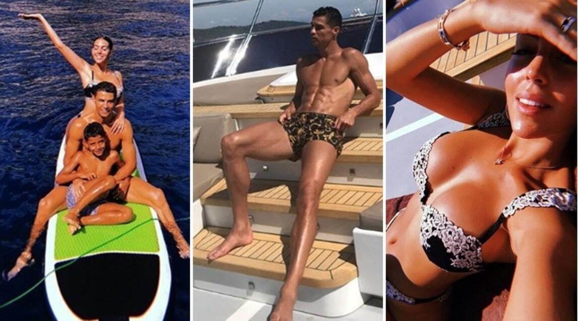 """Il Pallone d'Oro ha postato una foto su Instagram in cui prende il sole su un grande Yacht: """"Vitamina D"""", ha scritto. CR7 si sta godendo i tre giorni di pausa concessi da Allegri alla squadra. Il ritorno in campo è previsto martedì mattina"""