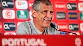Portogallo, Fernando Santos esalta Chiesa: «Con lui l'Italia è cambiata»