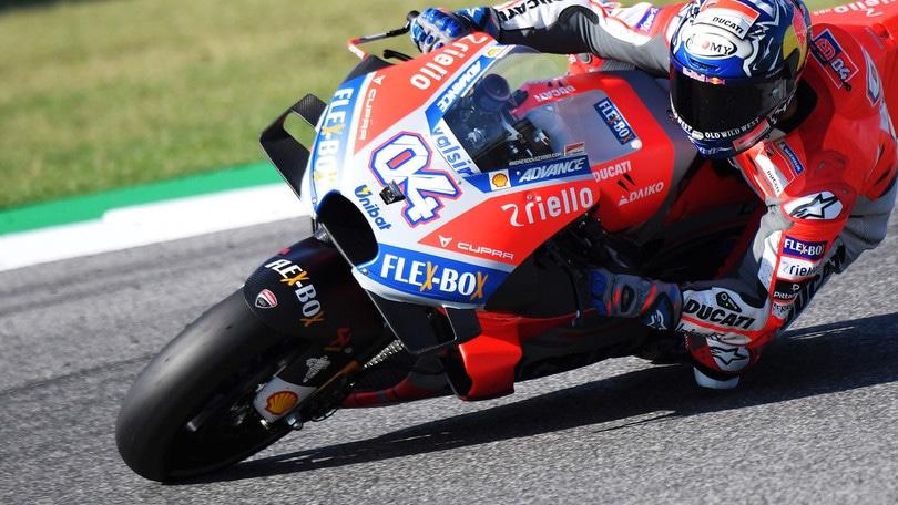 Moto Gp Misano: Dovizioso domina, Lorenzo cade nel finale