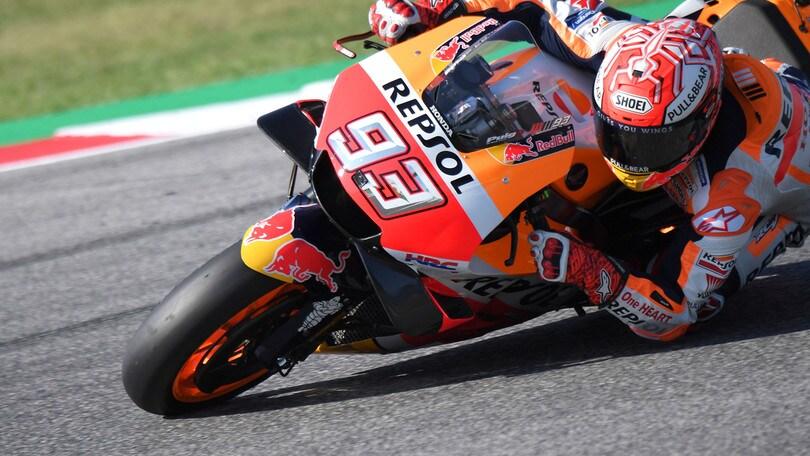 Moto Gp Misano, Marquez sulle Ducati: «Si sono svegliati tardi»