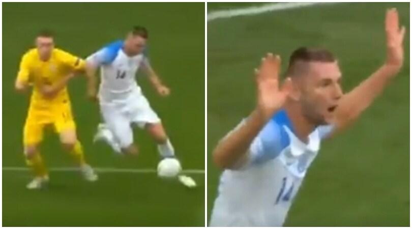 Ucraina-Slovacchia 1-0, Skriniar causa il rigore decisivo