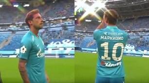 Marchisio allo Zenit, presentazione da Zar!