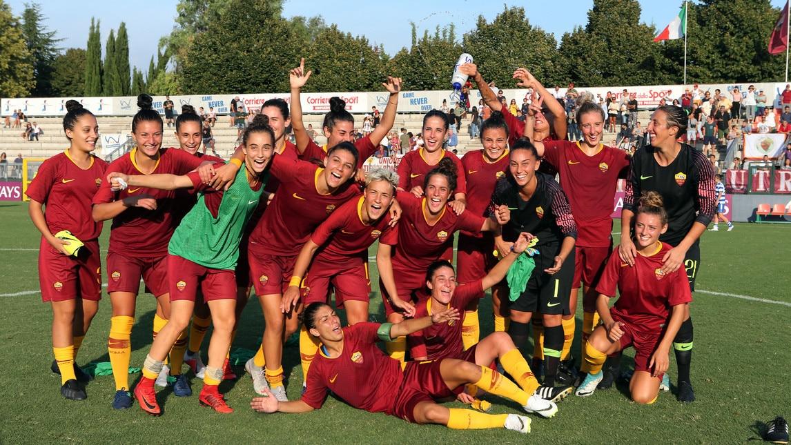 Festa al Tre Fontane: un'autorete, un gran gol della Simonetti e una doppietta della Serturini regalano la vittoria