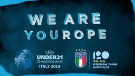 Europei Under 21, #tifiamoEuropa