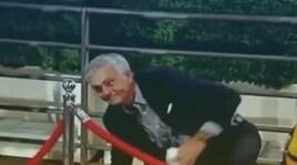 Mourinho, caduta a Wembley prima di Inghilterra-Spagna