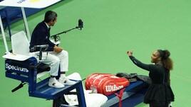 Serena Williams, multa da 17 mila dollari