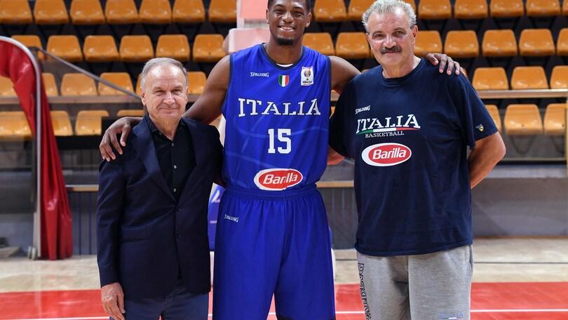 Michele Vitali, Della Valle e Brooks raggiungono l'Italbasket