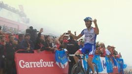 Vuelta, 15ª tappa - Vince Pinot, Yates resta in rosso