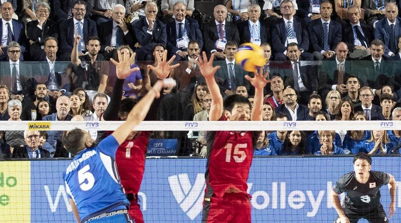 Mondiali volley, l'Italia fa festa al debutto