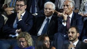 Italia, show al debutto sotto gli occhi del Presidente Mattarella