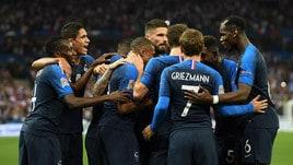 Francia, Mbappé e Giroud piegano l'Olanda