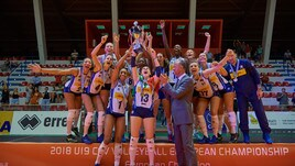 Volley: L'Italia Under 19 Femminile è Campione d'Europa