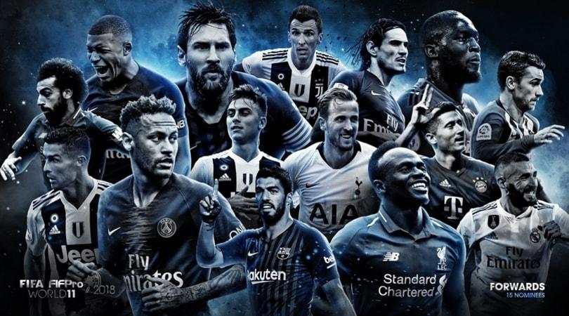 Top 11 FIFPro e Fifa, i 55 candidati: in lizza anche Buffon e Chiellini