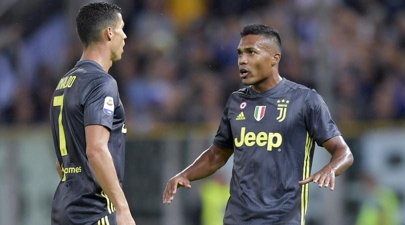 Juventus, Alex Sandro: «A Cristiano Ronaldo piace aiutare ed essere aiutato»