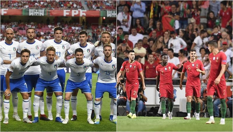 L'Italia cade in Portogallo. Balotelli solo in tribuna