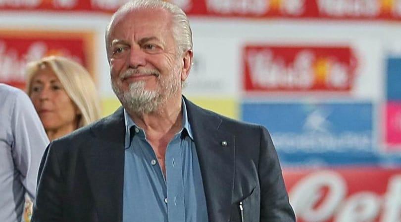 De Laurentiis: «Porto il Napoli a giocare a Bari in Champions»