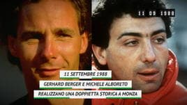 On this day - Berger-Alboreto, la storica doppietta a Monza