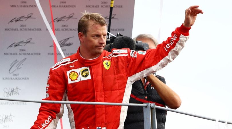 Formula1 Arrivabene saluta Raikkonen: