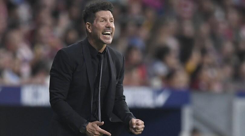 Simeone: «Un giorno allenerò l'Inter, ma ora sono felice all'Atletico Madrid»