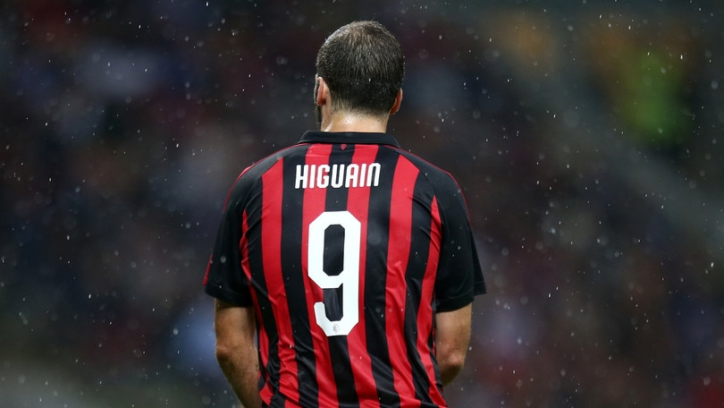 Serie A Milan, anche Higuain teme la maledizione della 9