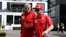 F1 Ferrari, Arrivabene: «Raikkonen un grande uomo-squadra»