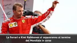Ferrari, Raikkonen lascia a fine stagione